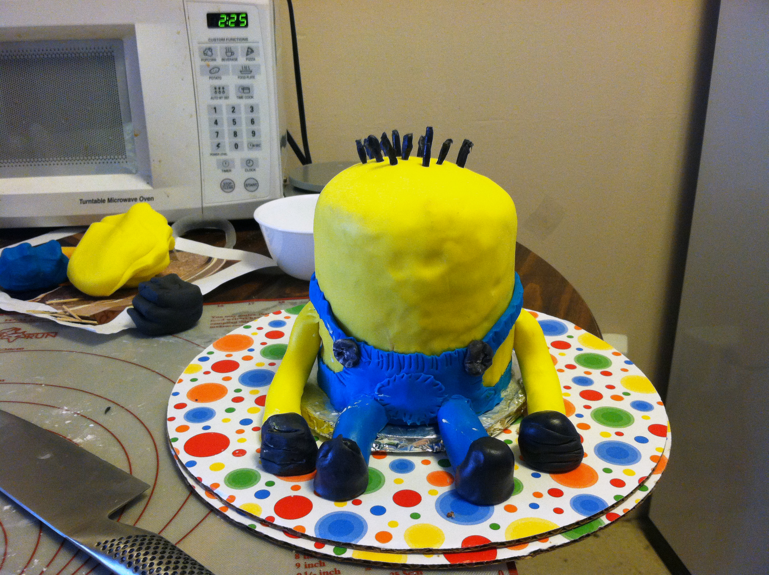 Despicable me minion cake bakers and best img1827 baditri Image collections