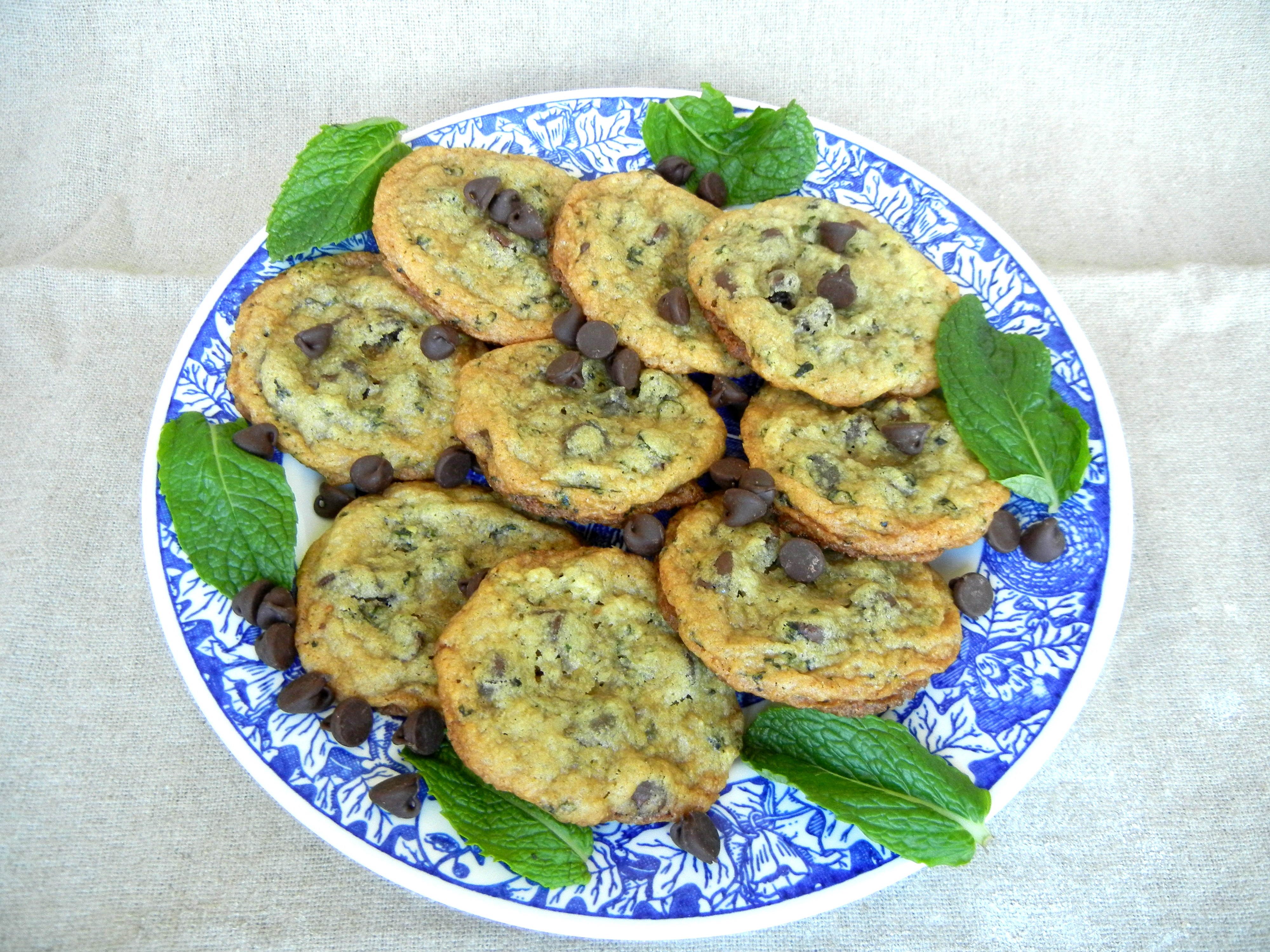 Fresh Mint Chocolate Chip Cookies – Bakers and Best